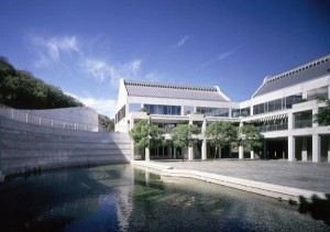Taper Courtyard at the Skirball Center