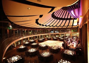 Ahmanson Ballroom at the Skirball Center